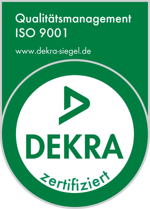 Dekra qualitaetsmanagement siegel