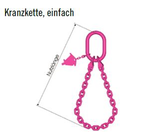 Hebe und Zurrtechnik Anschlagkette4 Osterholz Scharmbeck