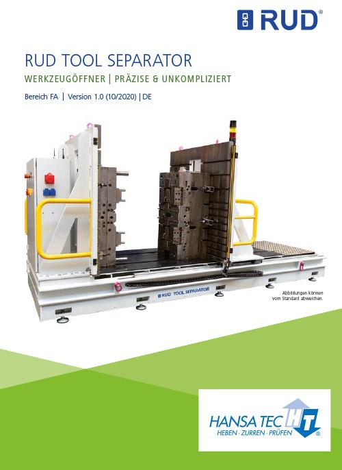 RUD TOOL SEPARATOR Werkzeugoeffner HansaTec 2020