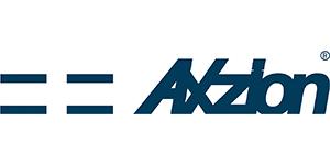 Axzion logo blue