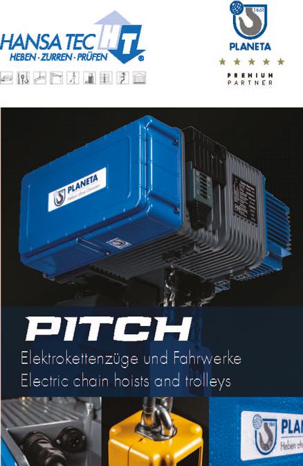 Seite aus HansaTec PLANETA Elektrokettenzug PITCH 2021 DE EN