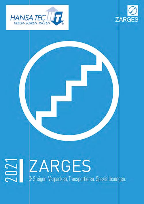 Seiten aus ZARGES HansaTec 2021 Hauptkatalog 01