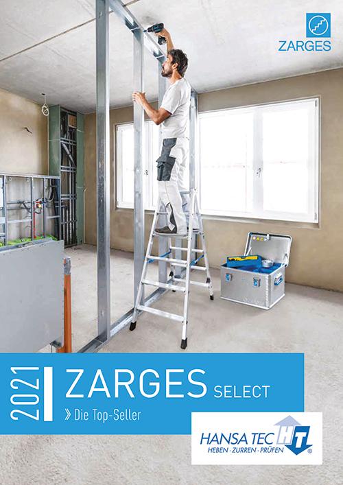 Seiten aus ZARGES HansaTec 2021 Selectkatalog